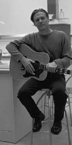Bryan and his guitar, 1998...