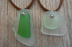 unusual, affordable & handmade sea glass necklaces