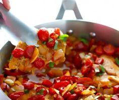 Easy Italian-Chicken-Skillet