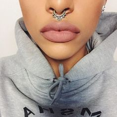 Its My Raye Raye tribal septum piercing