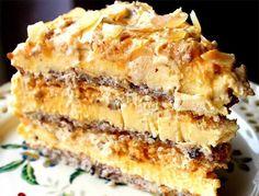 Mulți spun că e cel mai bun tort din lume! Top Recipes, Sweets Recipes, Baking Recipes, Cake Recipes, Romanian Desserts, Romanian Food, No Cook Desserts, Specialty Cakes, Eat Dessert First