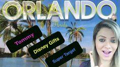 Vlog 1- Tommy Kissimmee, Disney Gifts, Golden Corral e Super Target