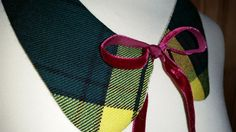 Reversable Hunting Buchanan Tartan Peter Pan Collar by LoullyMakes