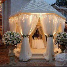Diy Outdoor Wedding And Event Tips Bling Pinterest Weddings Gazebo