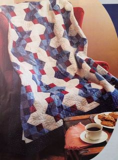 Blue Streak Quilt Pattern Pieced