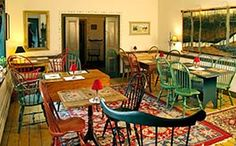 """Enjoy a multi-course gourmet breakfast at the quaint Bridgeton House (@Bridgeton House on the Delaware) bed and breakfast. This photo is part of the Visit Bucks County """"Repin It To Win It Contest."""" Repin this photo until May 1, 2012 to win a brunch at the Bridgeton House."""