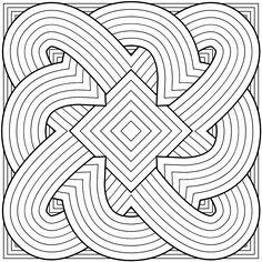 images of printable  geometric coloring pages | In other news, on other sites. I posted a new beadwork project on ...