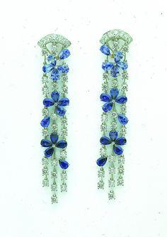 Van Cleef & Arpels - Fil de l'eau earrings by Van Cleef & Arpels, via Flickr