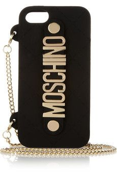 Clearly, my new phone needs its own gold chain. Moschinofrom Net-A-Porter