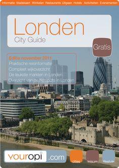 Gratis Ready to Go City Guide Londen van Youropi.com. Ontdek de beste restaurants, leukste winkels, leuke activiteiten en evenementen met deze gratis stadsgids!
