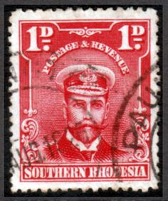 Southern Rhodesia 1924 George V Head Fine Used SG Scott 2 Other African and British Commonwealth Stamps HERE!