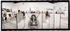 """Richard Hamilton's """"Man, Machine and Motion,"""" of 1955, re-created for the exhibition."""