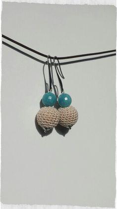 Crochet earrings diy