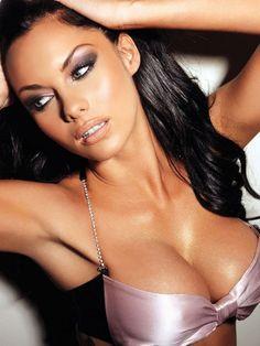 #sexy #brunette #model model, jessicajan clement, girl, sexi, jessica jane, beauti, jane clement, lip colour, eye