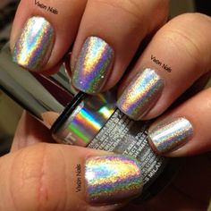 Layla Holographic Photo by vixen_nails