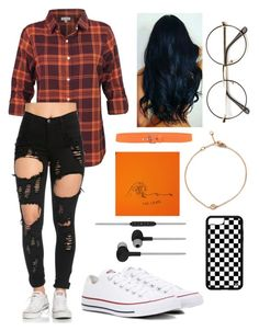 """""""the chaos"""" by bemorechillmel on Polyvore featuring Converse, Meltin'Pot and CYLO"""