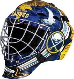01c8b183a79 Buffalo Sabres Unsigned Franklin Sports Replica Full-Size Goalie Mask
