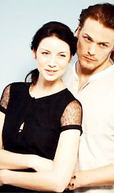 """ Sam Heughan and Caitriona Balfe for TVGuide (x) """