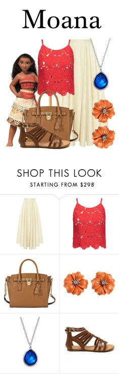 """Moana"" by megan-vanwinkle ❤ liked on Polyvore featuring The Row, Alice + Olivia, MICHAEL Michael Kors and Ippolita"