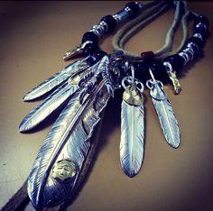 #goros#925#feather#eagle#claw
