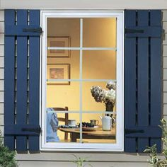 shutters with t straps | Shutter Hinges: Clearly, a shutter can't open and close without ...