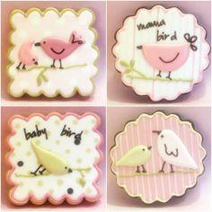 Birdie cookies from Sweet Hope cookies