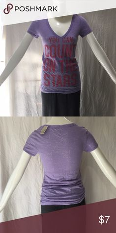 American Eagle V-Neck Brand New! Size small. Non smoking home, we do have cats. Bundle discounts! American Eagle Outfitters Tops Tees - Short Sleeve