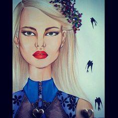 #fashion #fashionillustration #fashionillustrator #illustration #fashionart #style #art #drawing #artist #instaart #instaartist #karenwolf #karenushka #karenwolfillustrations #Inspiration #miumiu #copicmarkers