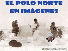 Polo Norte, Spanish, Place Card Holders, Movie Posters, Winter, School, Water Cycle, Homeschool, Northern Lights