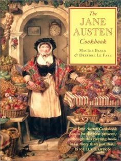 The Jane Austen Cookbook by Maggie Black, http://www.amazon.com/dp/0771014171/ref=cm_sw_r_pi_dp_70Pfqb16AQDX7