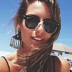 RayBan Clubmaster #RayBan #Clubmaster Sunglasses Store, Clubmaster Sunglasses, Ray Ban Sunglasses Outlet, Ray Ban Outlet, Summer Sunglasses, Discount Ray Bans, Cheap Ray Bans, Model Street Style, Sun