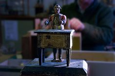 The House of Automata is a busy restoration workshop, visitors welcome to the workshop by prior arrangement.