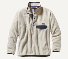 The Patagonia pullover that made fleece famous, the Synchilla® Snap-T Pullover is made of warm and durable Synchilla® heavyweight polyester fleece with the classic Snap-T® pocket and placket. Snap-T®