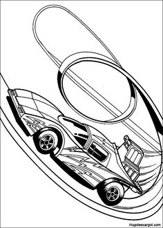 Hot Wheels - 999 Coloring Pages