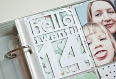 Hello 2014 Cut File by Nina Christensen