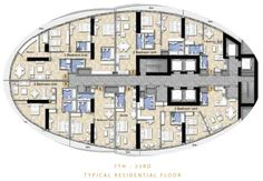 The Distinction Floor Plans - Downtown Burj Area Dubai