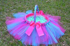 Easter Tutu Basket Custom Colors