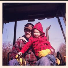 Tractors 101 Learning from the best, His Uncle Dave xxxooo