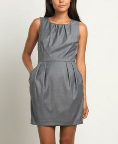 dresses- i wonder if this style would look good on me?  (longer of course though)
