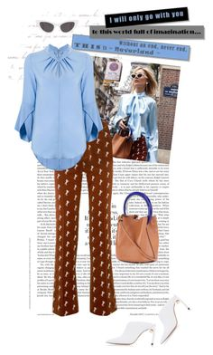 """""""#210"""" by yolins ❤ liked on Polyvore featuring Chloé, Victoria Beckham, Marni and Yves Saint Laurent"""