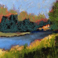 River Study #4 - Original Fine Art By Ginny Stocker