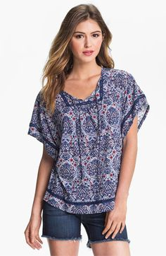 Lucky Brand 'Temezcal Beatrix' Top available at Nordstrom