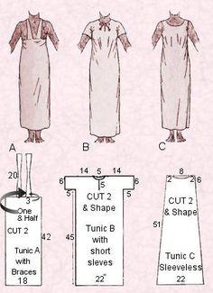 Egyptian dress...