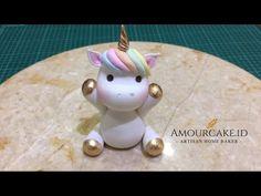 How to make a fondant unicorn cake topper - cake recipes unicornio cake cake de carne de tortilla salados individuales Fondant Toppers, Fondant Cakes, 3d Cakes, Fondant Man, Unicorn Cupcakes Toppers, Cat Cake Topper, Fondant Rose, Fondant Flowers, Diy Unicorn Cake