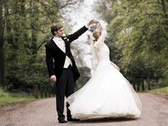 Fotos de boda con movimiento
