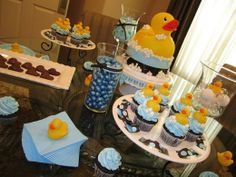 Rubber Ducky Baby Shower Theme.