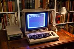 Commodore 64 with a 1541 disc-drive. ❤