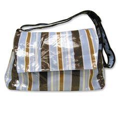 Trend Lab Blue Max Diaper Bag - Messenger Style #tinytotties
