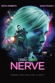Discover two extracts of NERVE! With Emma Roberts and Dave Franco: players and sexy! At the cinema on August Nerve Official Poster Nerve The Movie Two Exciting Extracts . Discover in pictures the challenges of NERVE!