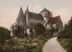 ca 1890-1900. Trondhjem Domkirken by National Library of Norway, via Flickr